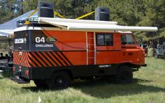 Land Rover G4 Challenge vehicle