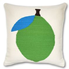 Green lemon pillow - I need this to go with my gin and tonics.