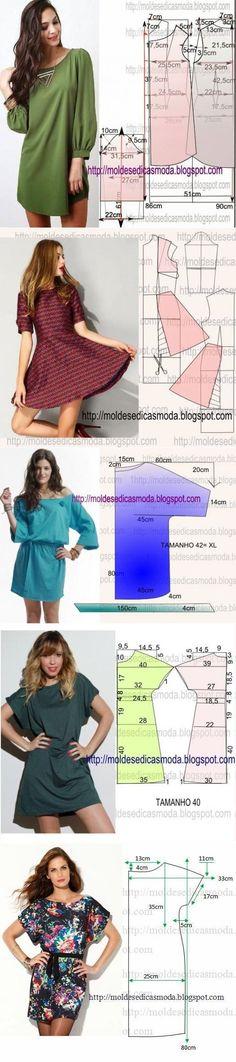 Шьем платья