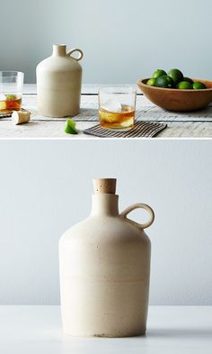 Case Ceramics   whiskey jug