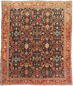 Persian Sultanabad carpet - Antique Persian Rug - Antique Rug - BB0615 by Doris Leslie Blau
