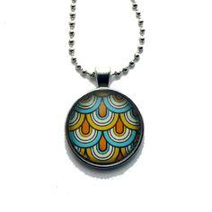 Retrosmykke Dots, Clay, Pendant Necklace, Jewelry, Stitches, Clays, Jewlery, Jewerly, Schmuck
