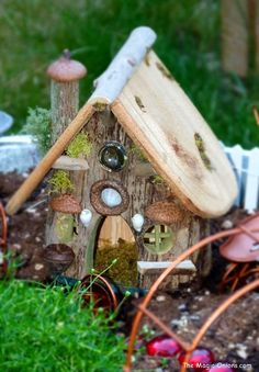 Fairy Garden on The Magic Onions - www.theMagicOnions.com