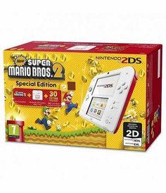 Prezzi e Sconti: #Nintendo 2ds bianco / rosso new super mario  ad Euro 89.88 in #Nintendo #Console
