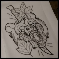 neo traditional drawings - Buscar con Google #TattooIdeasInMemoryOf