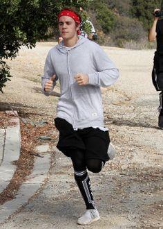 December 13: [More] Justin hiking in Los Angeles, California