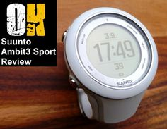 Suunto Ambit3 Review - An Awesome GPS sport swatch with Navigational capabilities and Bluetooth smartphone synchronisation #runchat #triathlon #fellrunning