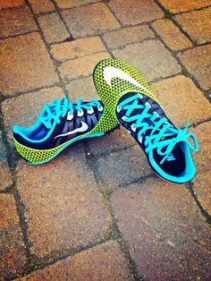 Nike iD track spikes