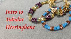 This tubular herringbone tutorial gives you the basics of how to make this wonderful beadweaving stitch!