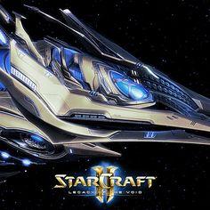 Starcraft II Legacy of the Void - Spear of Adun - InGame, Simon Fuchs on ArtStation at https://www.artstation.com/artwork/bVrdm