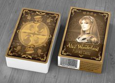 Alice of Wonderland Playing Cards - Gold & Silver Editions by Juan Solorzano — Kickstarter