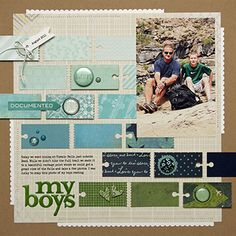 #papercraft #scrapbook #layout. Page Maps for scrapbooking