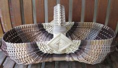 basket weaving patterns with gray reed - Google Search