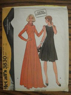 Vintage McCall's Sewing Pattern 3830 Shaped Bodice by Ziatacraft