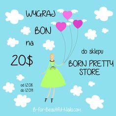 Rozdanie z Born Pretty Store u B. ♥ http://www.b-for-beautiful-nails.com/2014/08/rozdanie-z-born-pretty-store.html