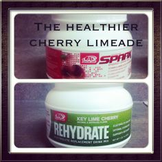The healthy alternative to cherry limeades: cherry spark and key lime cherry rehydrate!  #advocare #energy