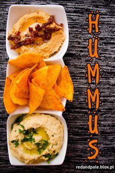 Hummus klasyczny i hummus z suszonymi pomidorami #gryz