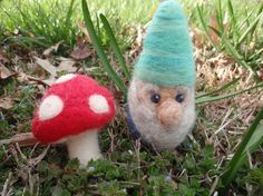 gnome - Felt craft