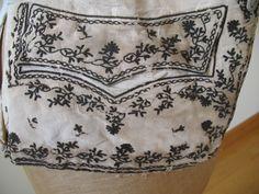 c. 1780s men's waistcoat via eBay.fr