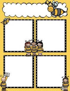 Hi, This set of Newsletter Templates include a color and black/white copy to accompany my Bee Binder set. This is also an editable Powerpoint file so you can add your own information to the newsletters. Kindergarten, Preschool Curriculum, Preschool Classroom, Classroom Themes, Classroom Organization, Preschool Activities, Preschool Newsletter Templates, Classroom Newsletter, Newsletter Ideas