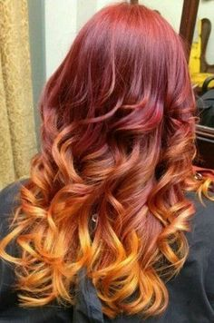 Red Ombre Hair Styles