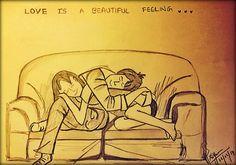 Love is beautiful. .