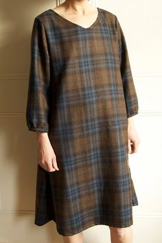 Wool dress by Harmony and Rosie