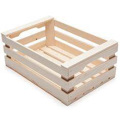 Set of 2 Boxes - alt_image_one Wood Crate Diy, Wooden Pallet Crafts, Pallet Art, Wood Crates, Wood Boxes, Pallet Projects, Wood Pallets, Diy Furniture Building, Craft Stick Crafts