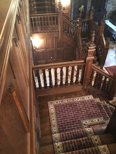 Best Custom Made Stair Runner Installed By Main Street 400 x 300
