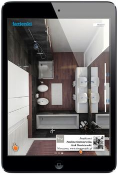 Projekt łazienki: