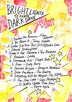 Rookie » Friday Playlist: Bright Lights for Dark Days