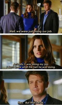 """""""I was doing my job. I don't know what the hell he was doing."""" (Countdown, 3x17)"""