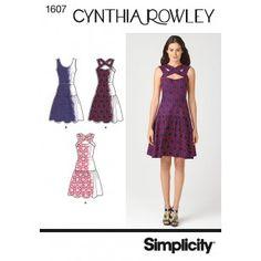 Misses' Dress Cynthia Rowley 1607