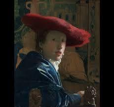 Veermer - Ragazza con il cappello rosso (Scuderie Quirinale)