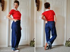 I love Casey's jeans! I'm planning to make a pair for the fall- so this is perfect timing!
