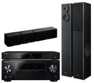 zestaw kina domowego 3D Pioneer BDP-170K, VSX-329K, S-ESR2TB (czarny)