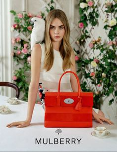 Fashion's darling, Cara Delevingne is giving us 'dreamy chic' when posing for the Spring/Summer 2014 campaign of Mulberry photographed by the imaginative mind of Tim Walker. Get carried away into Mulberry's land of romanticism and fantasy. Tim Walker, Spring 2014, Summer 2014, Spring Summer, Fashion Advertising, Advertising Campaign, Fashion Marketing, Donna Karan, Burberry