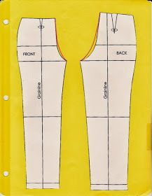 Cation Designs: Pants Pattern Alterations, correcting the mono-butt Sewing Pants, Sewing Clothes, Diy Clothes, Techniques Couture, Sewing Techniques, Sewing Class, Sewing Basics, Clothing Patterns, Sewing Patterns