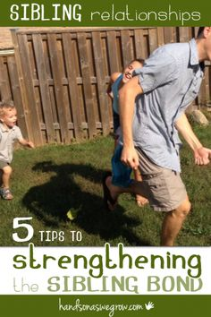 Three nothing more important than sibling relationships, they will ALWAYS be best friends. 5 tips to strengthen the bond between siblings.
