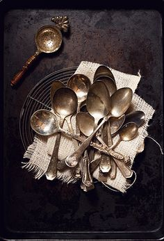 ∷ Variations on a Theme ∷ Collection of Vintage Spoons