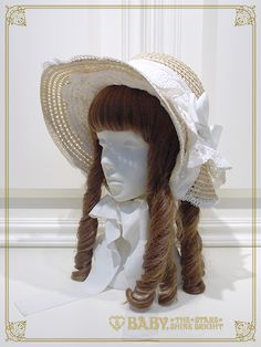 アミィミエルボンネットハット/Amymiel bonnet hat | BABY,THE STARS SHINE BRIGHT