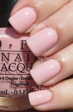 opi nail polish I Theodora You OPI. Best pinky neutral ever. U wont b disappointed opi nail polish Cute Nails, Pretty Nails, Nail Art Vernis, Pink Nail Art, Neutral Nails, Neutral Colors, Opi Nails, Gradient Nails, Nail Polish Colors