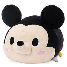 Disney Mickey Mouse ''Tsum Tsum'' Plush - Large - 17'' | Disney StoreMickey Mouse ''Tsum Tsum'' Plush - Large - 17'' - Disney's cutest characters have grown even cuter with our ''Tsum Tsum'' Plush Collection. Already a hit in Japan, now you can collect super-sized Mickey and his soft, cuddly friends in North America, each sold separately.