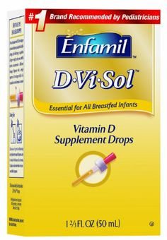 Amazon.com: Enfamil D-Vi-Sol Vitamin D Supplement Drops, 50 mL: Health & Personal Care