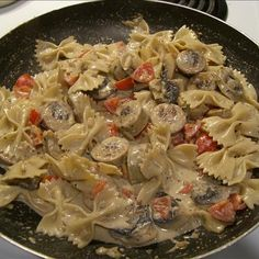 Chicken Sausage Farfalle Recipe