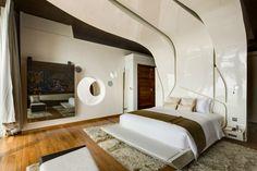 Mucha madera - AD España, © A-cero hotel Iniala Beach House  Los principales materiales utilizados fueron la madera y el policarbonato.