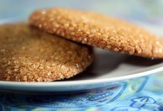 Model Bakery's molasses ginger cookies Made for k's event.  2 tbsp cornstarch +all purpose flour to 1 cup in place of pastry flour