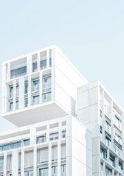 Glass Building, Concrete Building, White Building, Architecture Design, Minimalist Architecture, Concept Architecture, Architecture Geometric, Architecture Wallpaper, Building Architecture