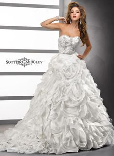 Large View of the Cecilia Bridal Gown