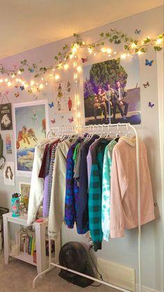 Room Design Bedroom, Room Ideas Bedroom, Bedroom Inspo, Pinterest Room Decor, Neon Room, Pastel Room, Retro Room, Indie Room, Cozy Room